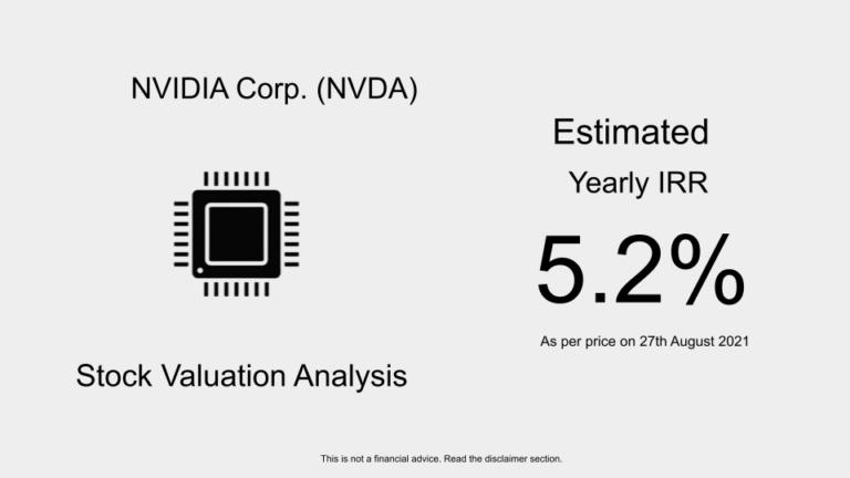 UA stock valuation