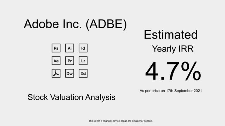 ADBE Stock Valuation