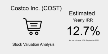 COST Stock Valuation