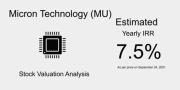 MU Stock Valuation
