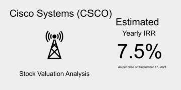 CSCO Stock Valuation