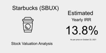 SBUX Stock Valuation